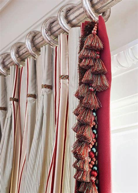 curtains with fringe trim 23 best iv trimmings 44 tassel fringe images on