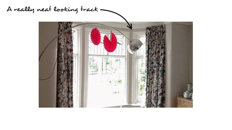 metal curtain track for bay window bay window curtain tracks that look great and work even better
