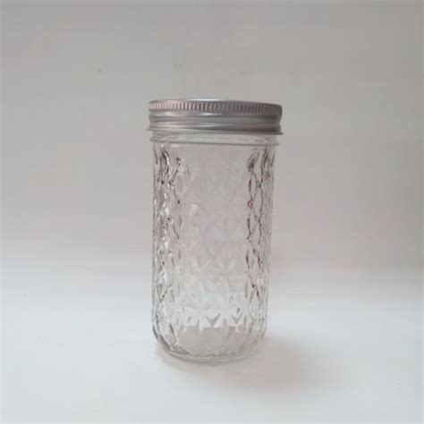 Quilted Jars by Aussie Quilted 340ml Jars Lids X 12