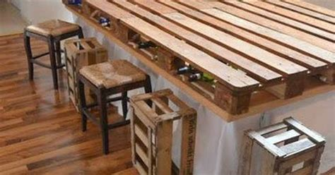 here s a new idea make your own bar or kitchen table out