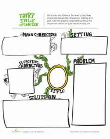 fairy tale graphic organizer worksheet education com