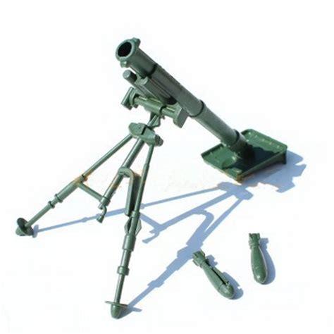 figure guns chbr19 mortar gun weapon model army soldier