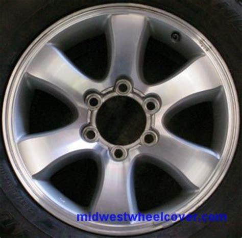 Toyota 6 Lug Wheels 69430 Used 17x7 1 2 6 Lug 5 1 2 Quot 03 08 Toyota 4