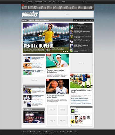themes wordpress sport 10 best sports wordpress themes