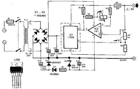 Kr04426 L200c Adjustable Voltage And Current Regulator radan electronic