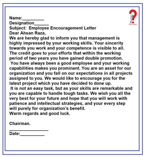 write motivation letter employees wiki