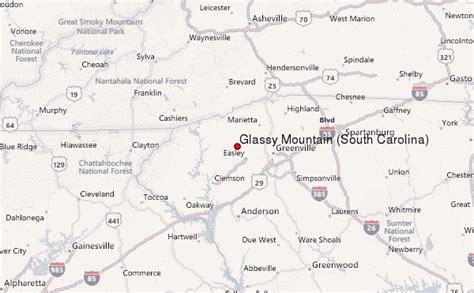 map carolina mountains glassy mountain south carolina mountain information