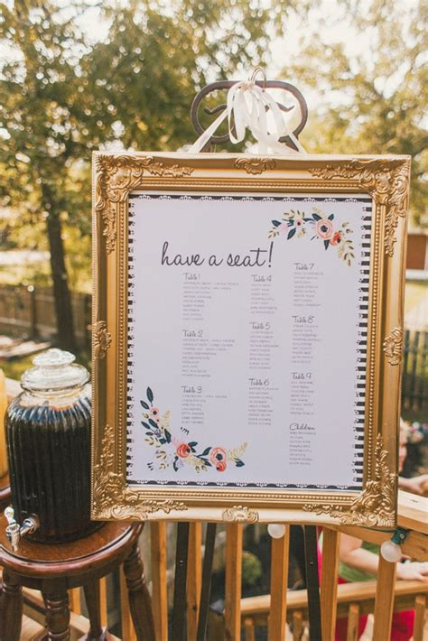 wedding seating plan picture frames 30 most popular seating chart ideas for your wedding day