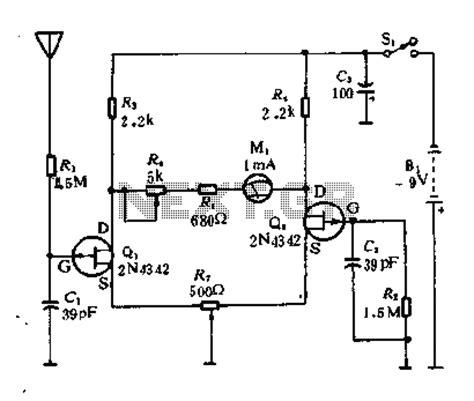 radiation sensor integrated circuit radiation detector circuit diagram radiation free engine image for user manual