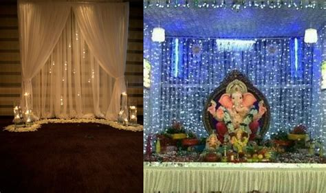 home decoration of ganesh festival ganesh chaturthi 2016 simple yet insanely beautiful