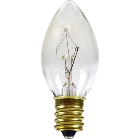 c 7 bulbs clear c7 candelabra base 7 watt light bulbs