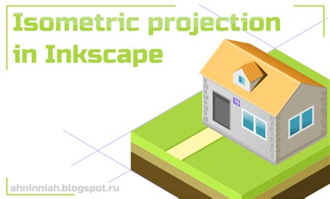 tutorial inkscape 3d learn to draw 2d art isometric projection in inkscape