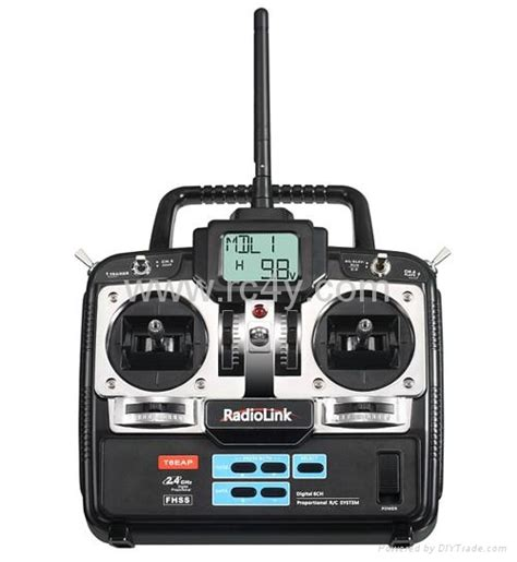 Radiolink T6ehp E 2 4g 6ch Rc Helicopter Remote Controller Transmitter radiolink t6ehp e r7eh 2 4g 6ch fhss radio system for helicopter airplane china model