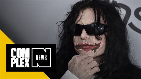 the room wiseau the room creator wiseau wants to play the joker mixtape tv