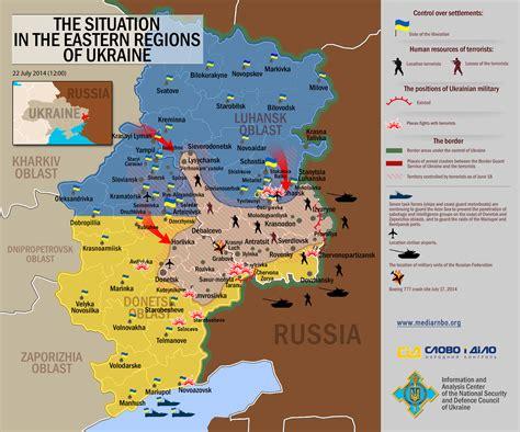 ua map fabulously ukrainian propaganda showing where the rebels are