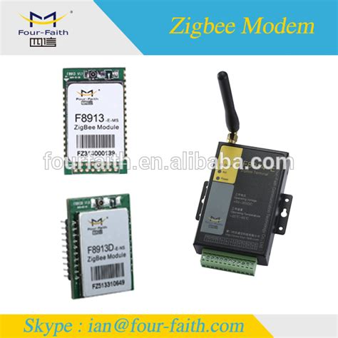 f8114 gprs zigbee modem with rs232 rs485 io for rfid home