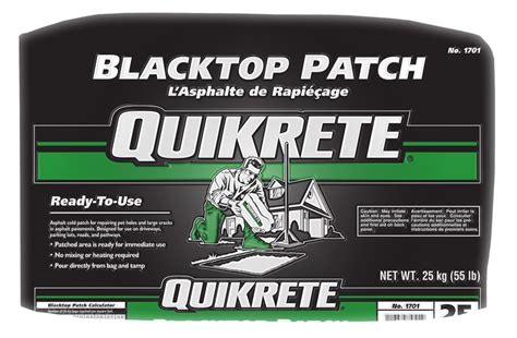 Asphalt Repair Home Depot by Quikrete Blacktop Patch Home Depot