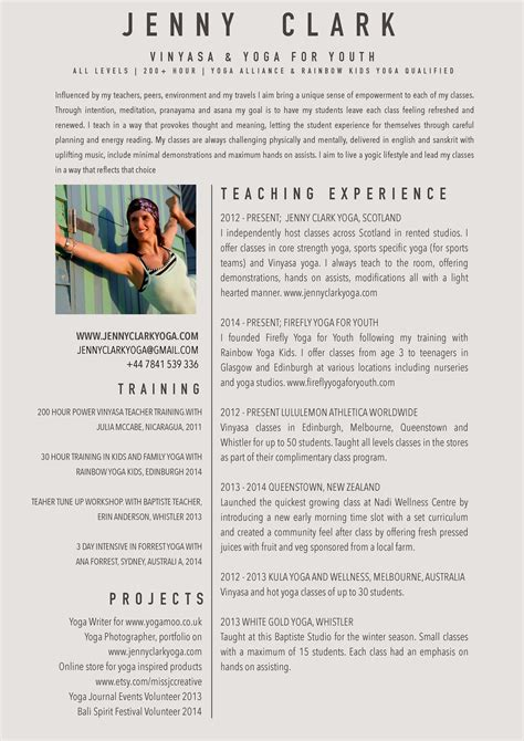 ms word resume template yoga resume templates printable templates free