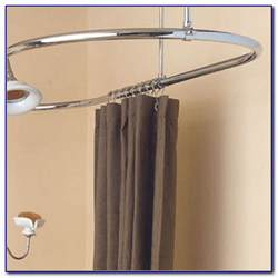 oval shower curtain rod bed bath and beyond curtain