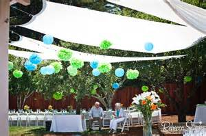 diy backyard party ideas diy backyard canopy party ideas pinterest