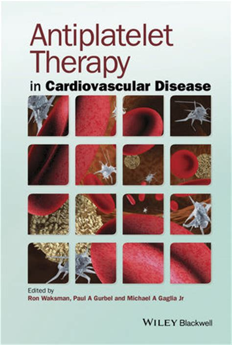 Cd E Book Cardiovascular Pharmacotherapeutics wiley antiplatelet therapy in cardiovascular disease
