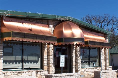Copper Awning by Awnings Trade Air Conditioning Sheet Metal