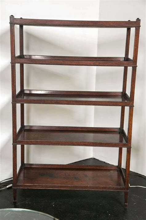 etagere englisch antique hepplewhite mahogany etagere at 1stdibs