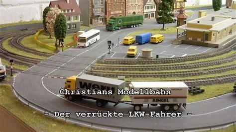 beleuchtung für modellautos 1 87 der verr 252 ckte lkw fahrer unfall am bahn 252 bergang 1 87 rc
