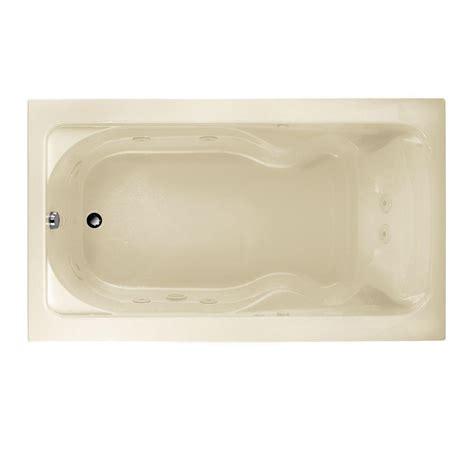 american standard cadet bathtub american standard cadet 6 ft x 42 in everclean whirlpool
