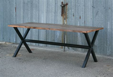 modern bench dining table combine 9 industrial furniture modern industrial