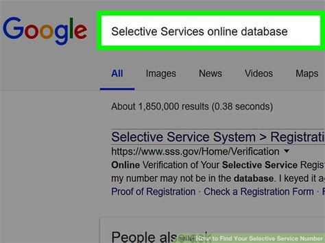 Selective Service Verification Letter selective service system official site how to find your