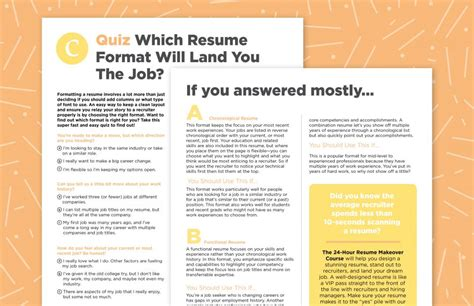 Formatting A Resume by Formatting Your Resume Like This Can Help You Land The