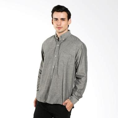 Kemeja Cotton Tangan Panjang U Pria Wanita Casual Style Keren Gaul Si jual oberoi chambray grey kemeja pria ls harga kualitas terjamin blibli
