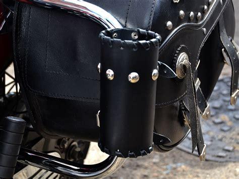 öl Motorrad by L Leder Motorrad Tasse Can Flaschenhalter Tasche Honda