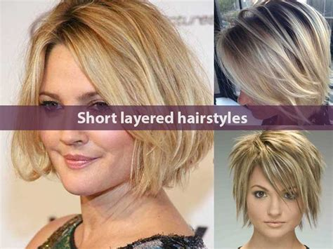 hairstles for women almost 60 easy blow dry trending short layered hairstyles for women hairstyle