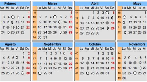Calendario Chino Para Embarazadas 2012 Calendario Lunar Y Embarazo Elembarazo Net