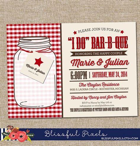 bridal shower barbeque invitations bridal shower invitation i do bar b que couples shower