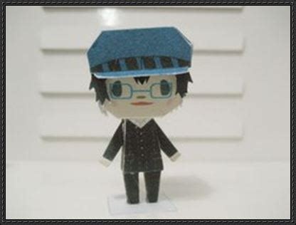 Persona Papercraft - shin megami tensei persona 4 chibi naoto shirogane free