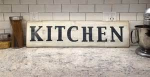 kitchen sign wooden sign vintage sign wall by