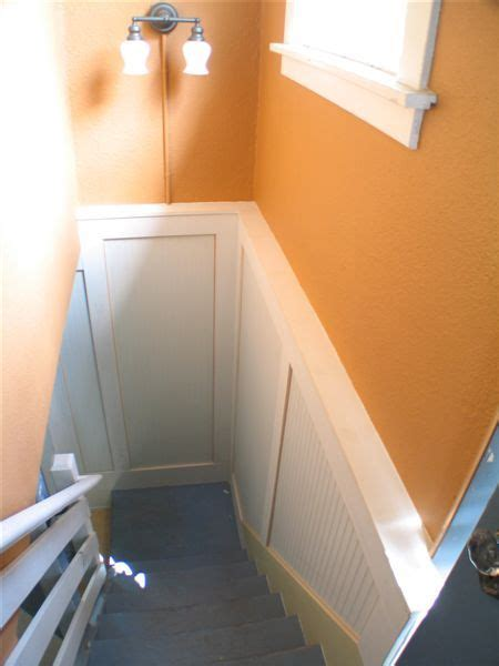 Wainscoting Basement 17 Best Images About Basement Stairs On