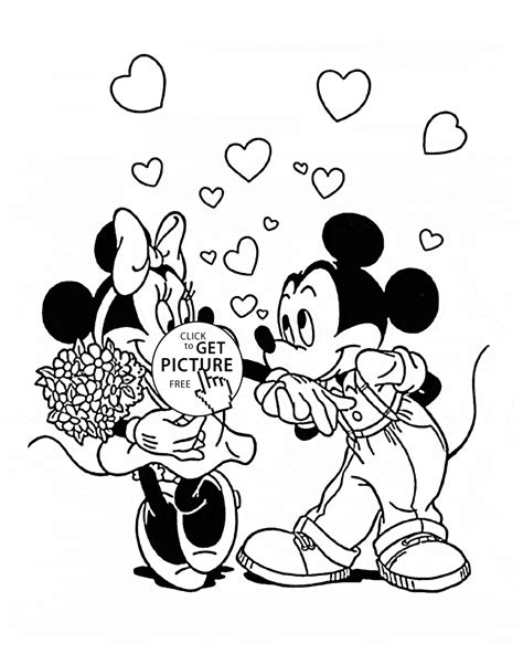 girl mouse coloring page minnie and mickey mouse coloring page for kids for girls