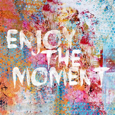 coole poster jugendzimmer andrea haase enjoy the moment ii poster posterlounge