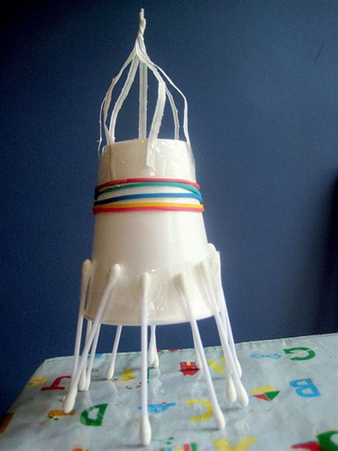 How To Make A 3d Rocket Out Of Paper - cool space crafts for
