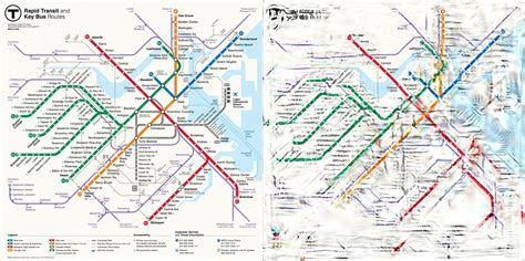 boston transit map can computer science untangle our transit maps mit csail
