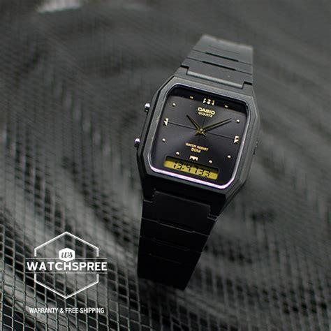 Casio Digital Analog Aw 48he 1 jual jam tangan casio aw 48he 1a analog digital