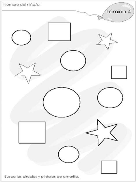 figuras geometricas actividades para preescolar actividad para ni 241 os de preescolar
