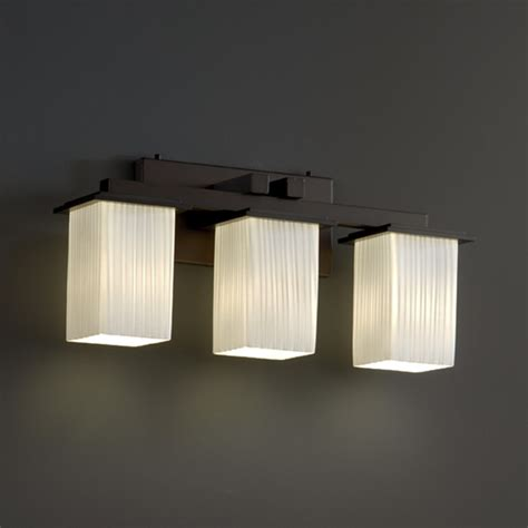 bathroom vanity bar lights montana three light square bath bar modern bathroom