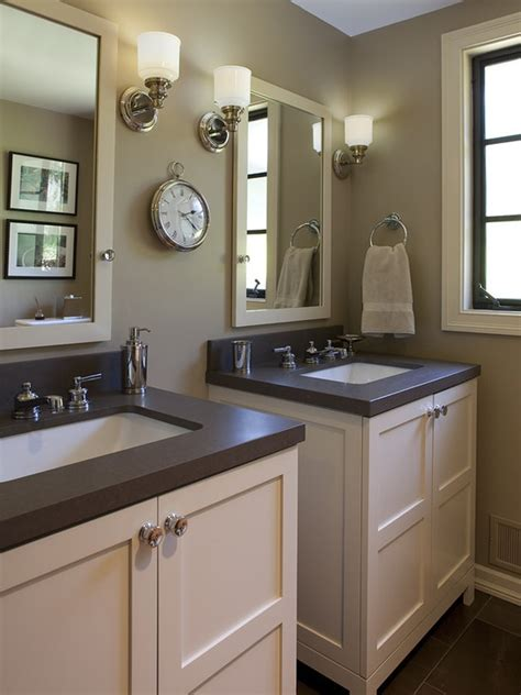 sinks   hall bathroom color  style