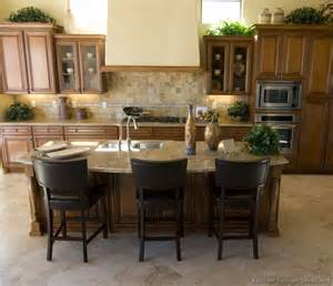 Medium Brown Kitchen Cabinets Pictures Of Kitchens Traditional Medium Wood Cabinets Brown Page 2