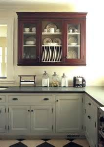 Different Colored Kitchen Cabinets Kitchen Cabinets With Different Color Green Painted
